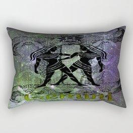 Gemini Astrology Rectangular Pillow