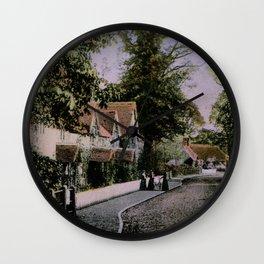 1900 Canford Magna village Dorset England Wall Clock