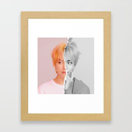 V Framed Art Print