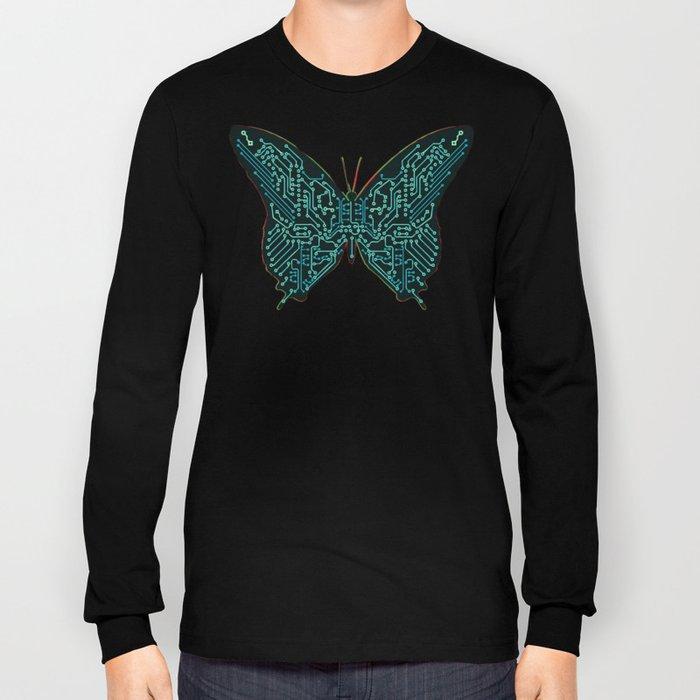 Mechanical Butterfly Long Sleeve T-shirt