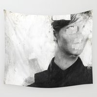 number Wall Tapestries featuring Faceless | number 01 by FAMOUS WHEN DEAD