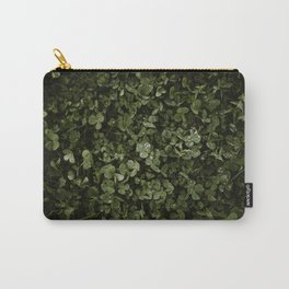 Clover with Rain Drops Carry-All Pouch
