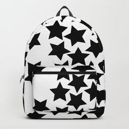 Lots of Black Stars Backpack