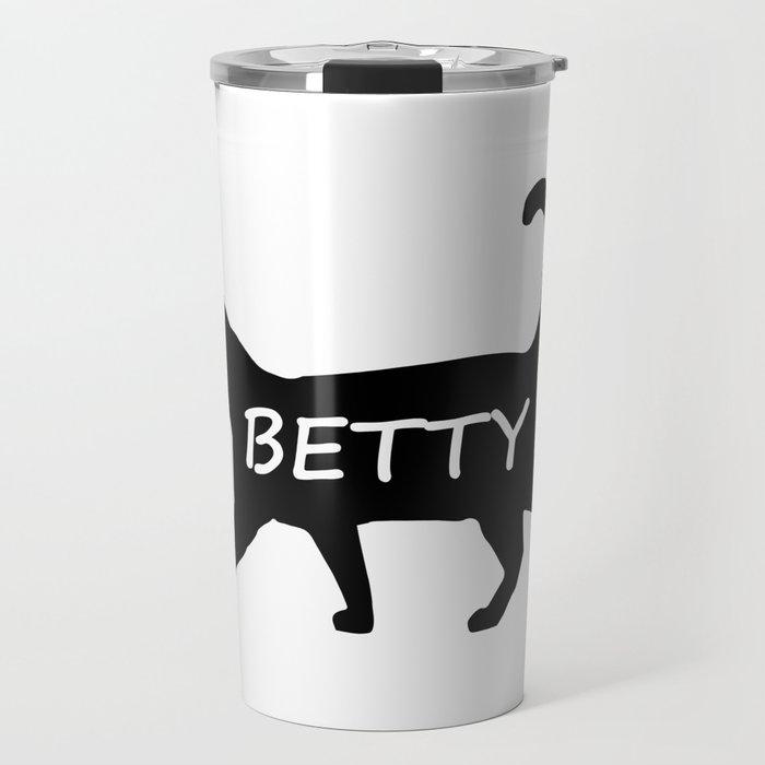 Betty Cat Travel Mug