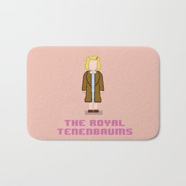 Margot Tenenbaum 8 bits Bath Mat