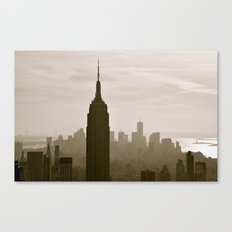 Start Spreading the News.... Canvas Print