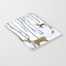 Winter Deer Notebook