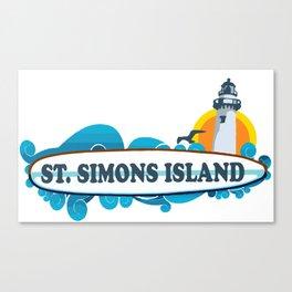 St. Simons Island - Georgia. Canvas Print