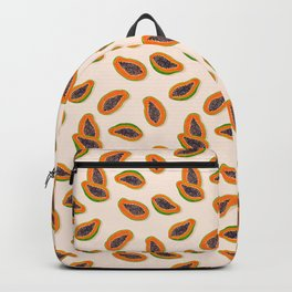 Papaya Twins - pink Backpack