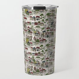 A Town In Scandinavia Travel Mug