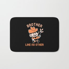 BROTHER LIKE NO OTHER Bath Mat