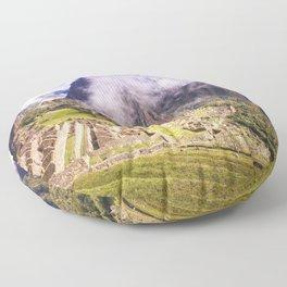 Machu Picchu Incas Lost City Floor Pillow