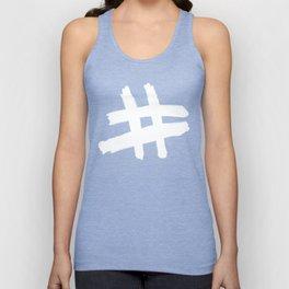 Hashtag Unisex Tank Top