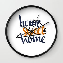 Home Sweet Home Virginia Wall Clock