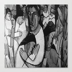 Artistic People Canvas Print