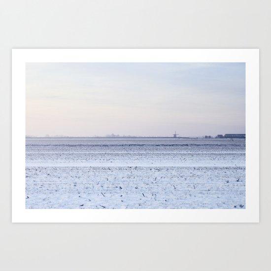 Winter VIII Art Print