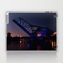 Bridge in Blue Laptop & iPad Skin