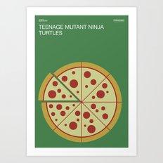 Poster Nintendo Teenage Mutant Ninja Turtles Art Print
