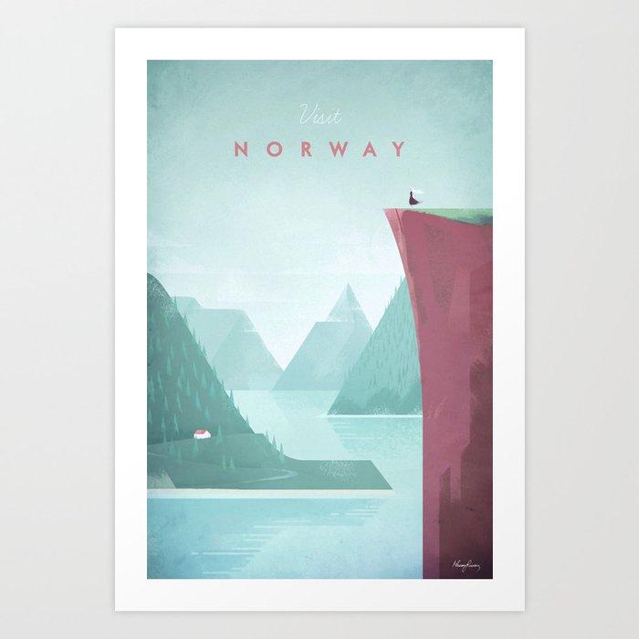 Norway Kunstdrucke