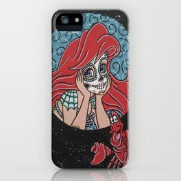 Ariel and Sebastion iPhone Case