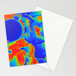 American Sniper Chris Aming Artistic Illustration Thermal Viewer Style Stationery Cards