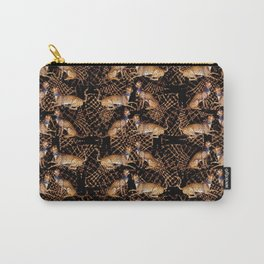 De Grassi Cheetah Pattern III Carry-All Pouch