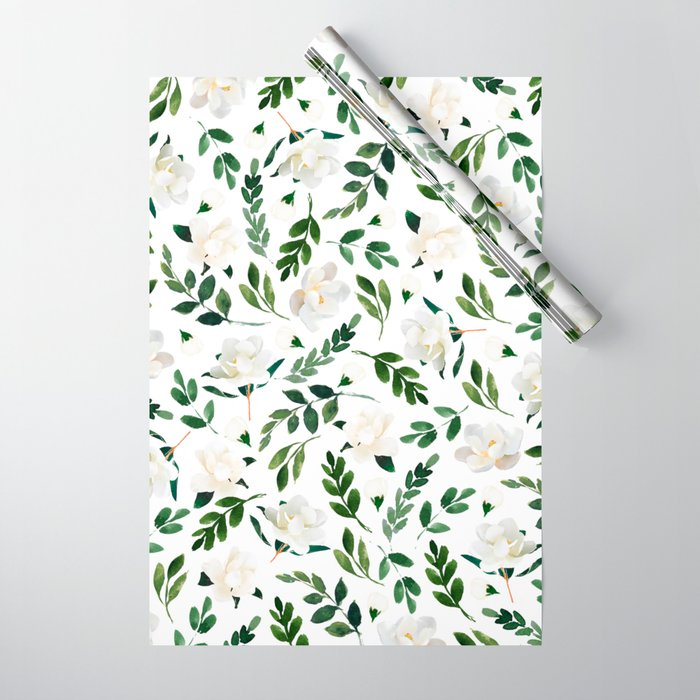 Magnolia Tree Wrapping Paper