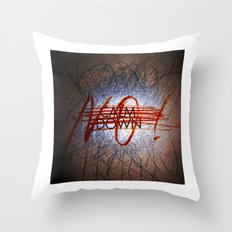 Calm DowNO! Throw Pillow
