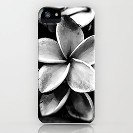 Tropicals B&W iPhone Case