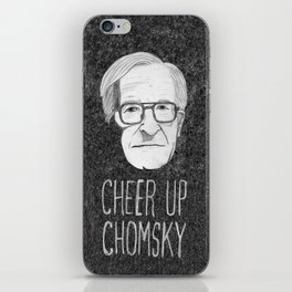 Cheer Up Chomsky iPhone Skin