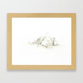 Polyscape Framed Art Print