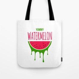 Yummy Watermelon Tote Bag
