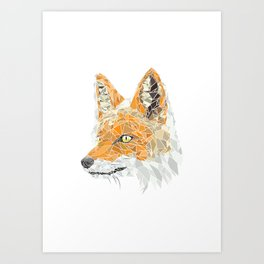 GeoFox Art Print