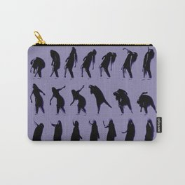 purple dancer Carry-All Pouch