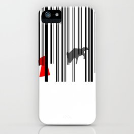 out of the woods iPhone Case