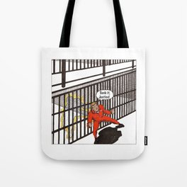 Ability to teleport up to 3 feet Tote Bag