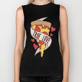 True love Pizza Biker Tank