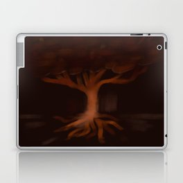 Glowing Tree 1 Laptop & iPad Skin