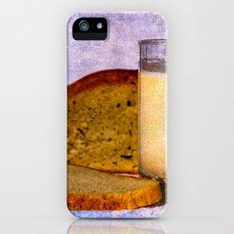 Milk And Bread Still Live iPhone Case