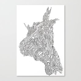 Jack Lenovo Canvas Print
