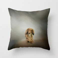 It's Showtime Baby - Dachshund Throw Pillow