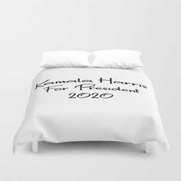 Kamala Harris for President Duvet Cover