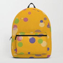 Fantasy Bubbles on Orange Backpack