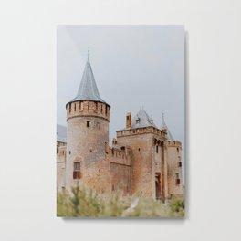 Muiden Castle / Netherlands Metal Print