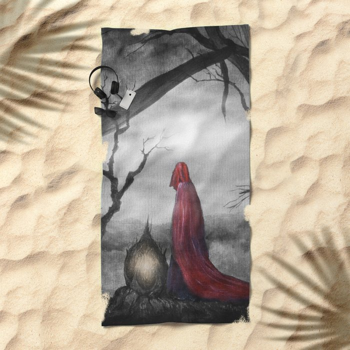 Tales of Halloween IV Beach Towel