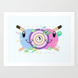 Tasty Visuals - Maki Zushi Art Print