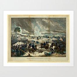 Battle of Gettysburg by Thomas Kelly Art Print