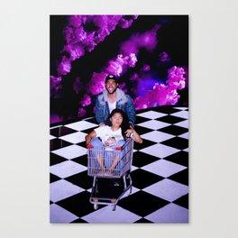 Cart Troubles Canvas Print