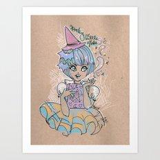 Spooky Little Cutie Art Print