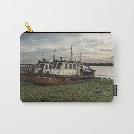 Old Police Boats Carry-All Pouch